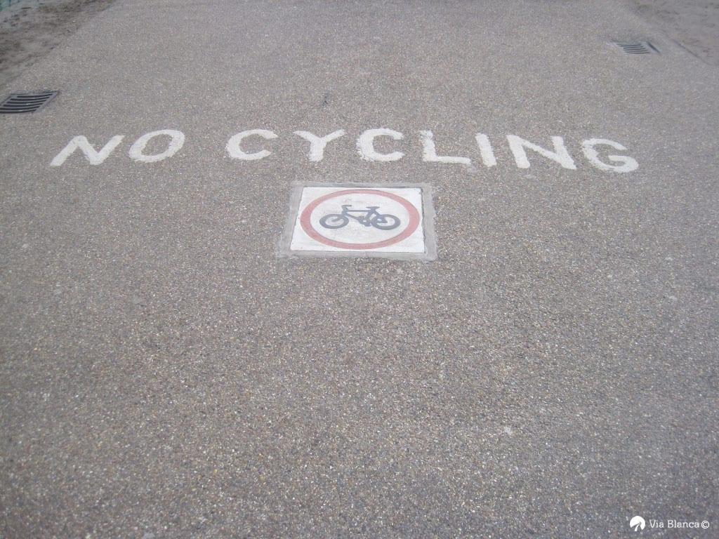 No cycling, Lontoo, 2008