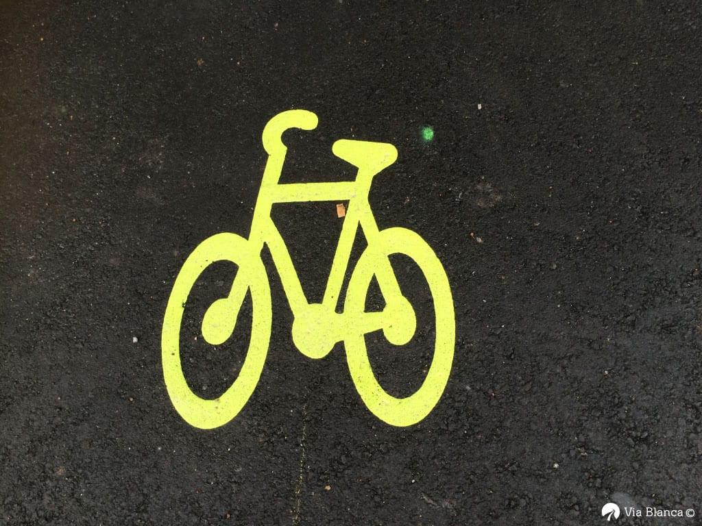 Polkupyörä-symboli, Tukholma, 2018
